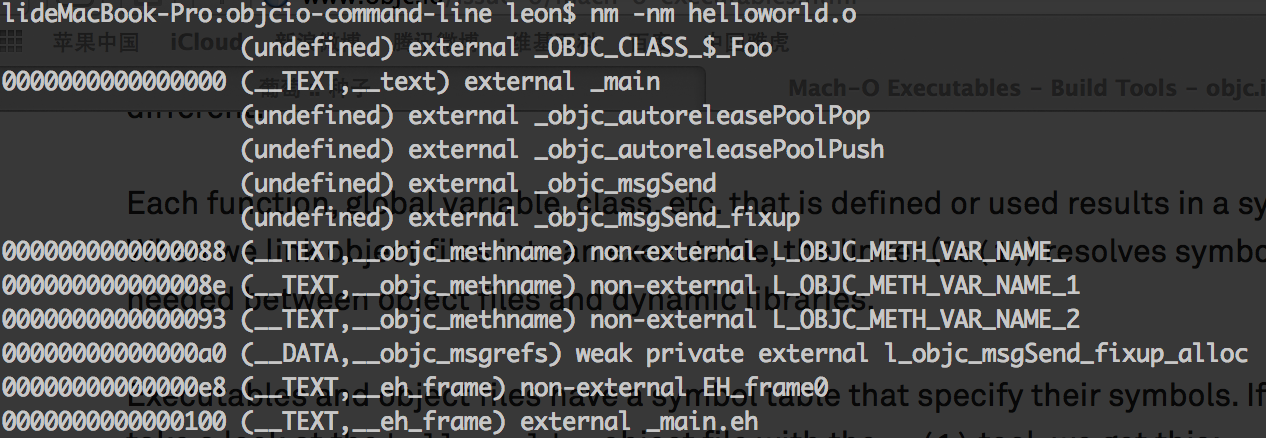 Mach O Executable Leons Blog